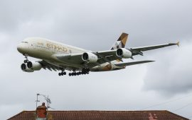 Etihad's A380 Flyover amazes viewers