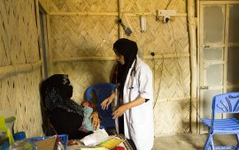 UAE doctors provide medical care to Rohingya refugees on UAE's 46th National Day