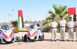Abu Dhabi Police introduce motorbike ambulances