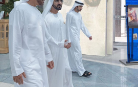 """""""Sheikh Mohammed is a leader to be proud of,"""" tweets Abu Dhabi Crown Prince"""