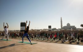 XYoga Dubai's opening witnesses a huge crowd