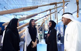 "Noura Al Kaabi launches ""Untold Stories Retold"" exhibition at Warehouse421, Abu Dhabi"