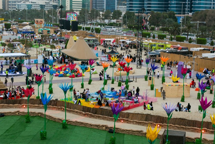 Abu Dhabi gets ready for the Mother of The Nation Festival
