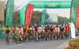 YAS Island Cycle Race; Roads to be partially closed on Saturday, 31st March
