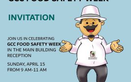 DM invites the public to participate in the 'GCC Food Safety Week'