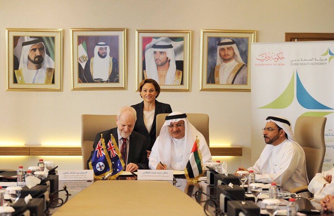 DHA signs a MoU with QIMR to secure the future of cancer research and treatment in Dubai