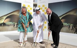 Luxembourg breaks ground for its pavilion at Expo 2020 Dubai