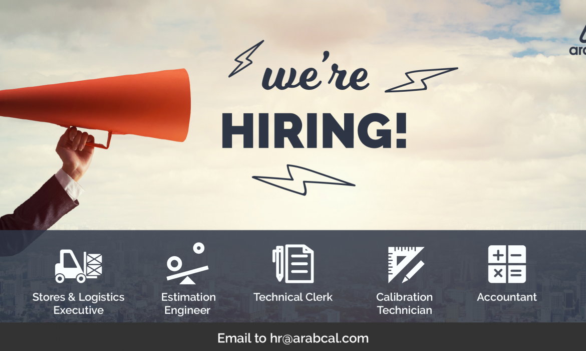 Arabcal looks to hire skilled candidates for their upcoming job vacancies
