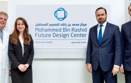 Mohammed bin Rashid Centre for Future Research opens at the Oxford University