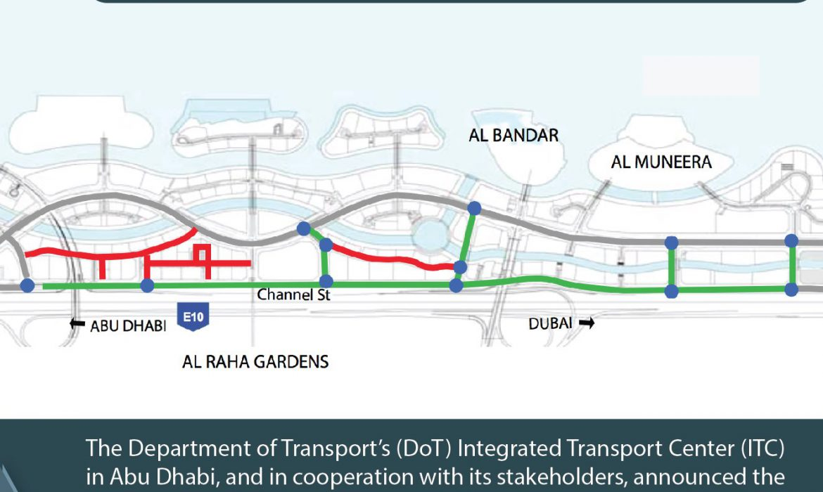 DoT inaugurates the new Al Qanat Street with 12 signalized intersections