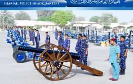 Sharjah Police to fire Iftar cannons during Ramadan