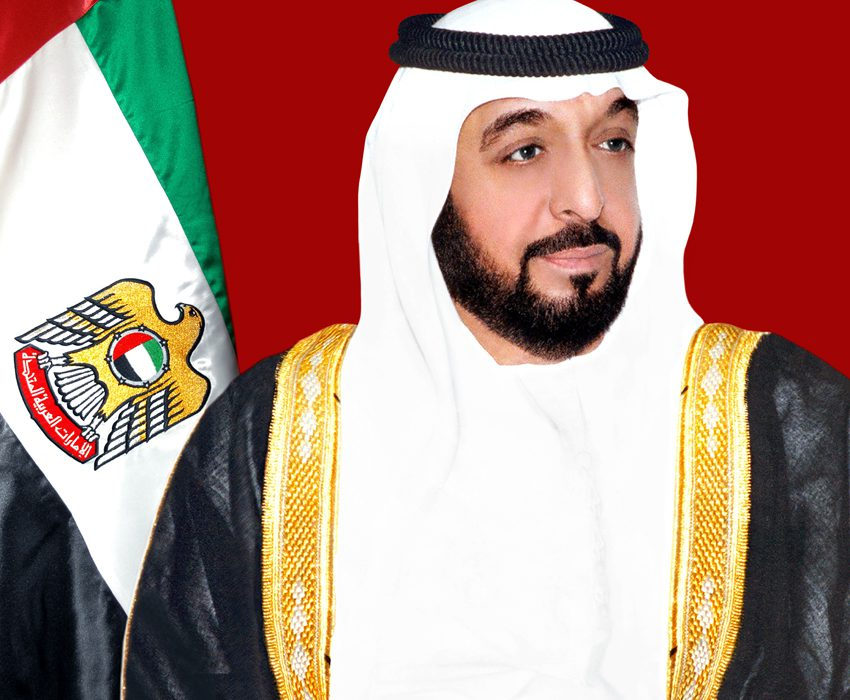 Sheikh Khalifa issues laws regarding mosques care and the establishment of Insurance Authority and its operations