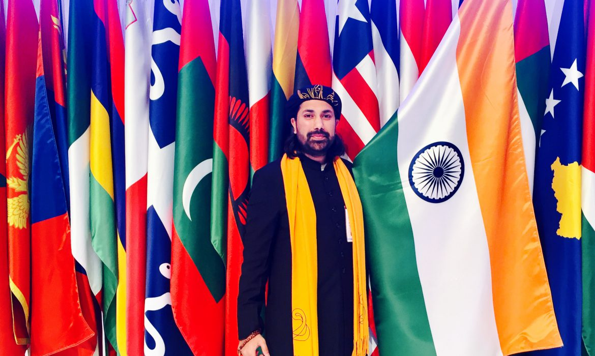 Haji Syed Salman Chishty represents India at the UAE high-level Global Muslim Congress