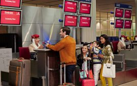 Emirates encourages customers to arrive early to airport during busy summer season