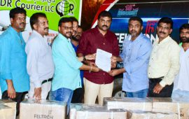 Feltron delivers lighting solutions to the Kerala flood victims