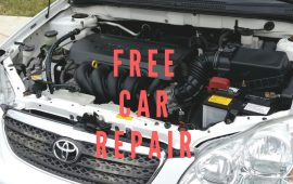 Now get your car repaired for free in Abu Dhabi!