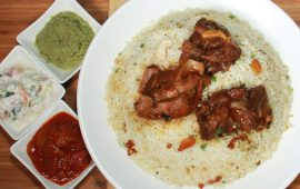 The famous Mapilla epicurean delight Cochin Kayees Biryani can now be savored in Sharjah