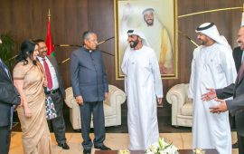 Sheikh Nahyan lauds the bonds between UAE and India