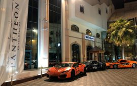 Pantheon Development Part of the Best Drive Experience to Super Car Owners from Across the Globe within the UAE
