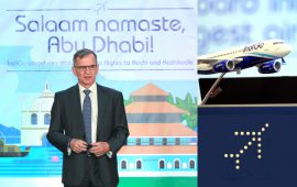 Indigo airlines to enter Abu Dhabi from October