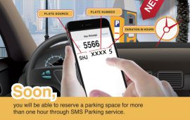 Sharjah Municipality announces extension in reserving SMS parking to more than one hour