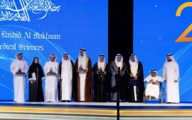 Sheikh Hamdan honours the winners of the Hamdan Medical Award