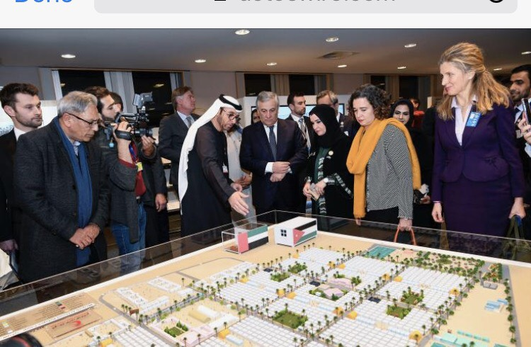 European Parliament President Calls for Strengthening Cooperation with UAE in Humanitarian, Relief Work