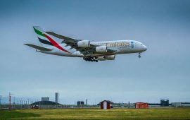 Emirates ranks among the top 20 most punctual airlines globally