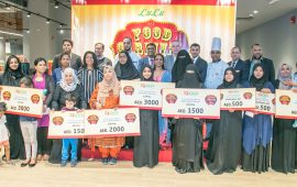 Lulu recognizes food carnival cooking competition winners