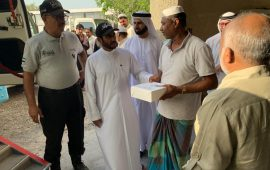"Other expatriates should model Malayalis in terms of charity,says  Major General Abdullah, Director of the Dubai Police ""Its delightful to distribute iftar kits to the very deserving people of labor camps"" states Major General"