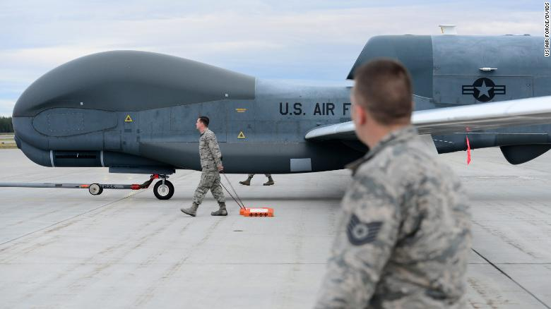 U.S. sends message to Iran after drone being shot down