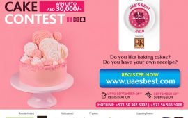 Bake the cake at home and win AED 30,000;